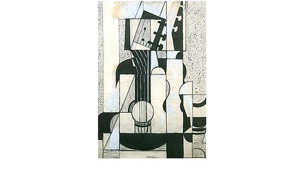 Juan Gris Todavía Vida Con Guitarra cubismo Art Print Póster – 13 ...