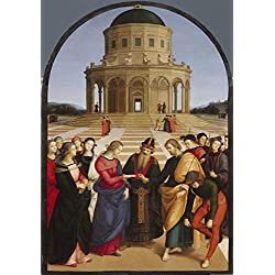 LAMINATED 19x28 Poster: Raffaello - Spozalizio - Web Gallery of Art