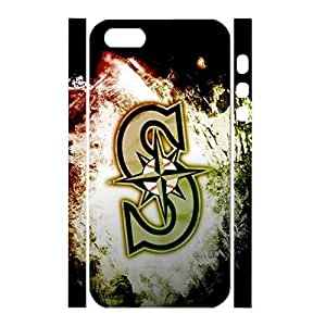 Superior Antiproof Baseball Team Logo Handmade Style Phone Accessories for Iphone 5 5s Case