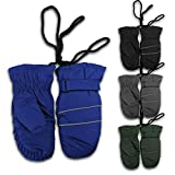 #7: Magg Kids Toddlers Fleece Lined Winter Snow Glove Waterproof Solid 4-7T mittens