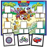 Magnetic Let's Find and Name Things Board Game - Super Duper Educational Learning Toy for Kids