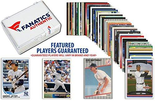 new-york-yankees-team-trading-card-block-50-card-lot-fanatics-authentic-certified-baseball-team-sets