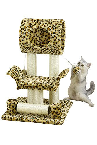 Go Pet Club Cat Tree Condo House, 18W x 17.5L