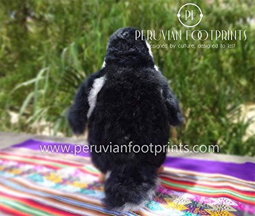 Baby Alpaca Penguin medium beautiful PENGUIN Stuffed Animals teddy PENGUIN Stuffed Animals Alpaca Fur Soft Toys Handmade Gift Ideas Decor