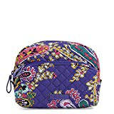 Vera Bradley Iconic Medium Cosmetic, Signature Cotton, Romantic Paisley