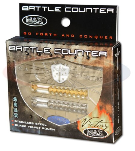 Victory Max Abacus Style Stainless Steel Battle - Battle Counter