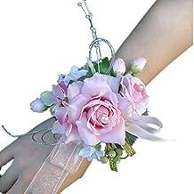 Amazon.com: pink prom corsage