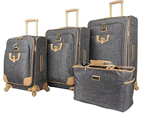 Nicole Miller Paige Collection 4-Piece Luggage Set: 28