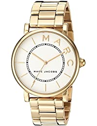 Marc Jacobs Women's 'Roxy' Quartz Stainless Steel Casual Watch, Color:Gold-Toned (Model: MJ3522)