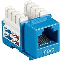 Black Box Network Services CAT6 KEYSTONE JACK BLUE 25 PACK CAT6J-BL-25PAK