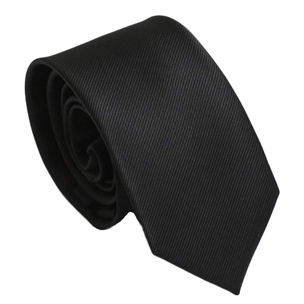NoaTayso Mens Ties,Business Occupation Formal Accessories Silk Narrow 6cm Mens Neckties