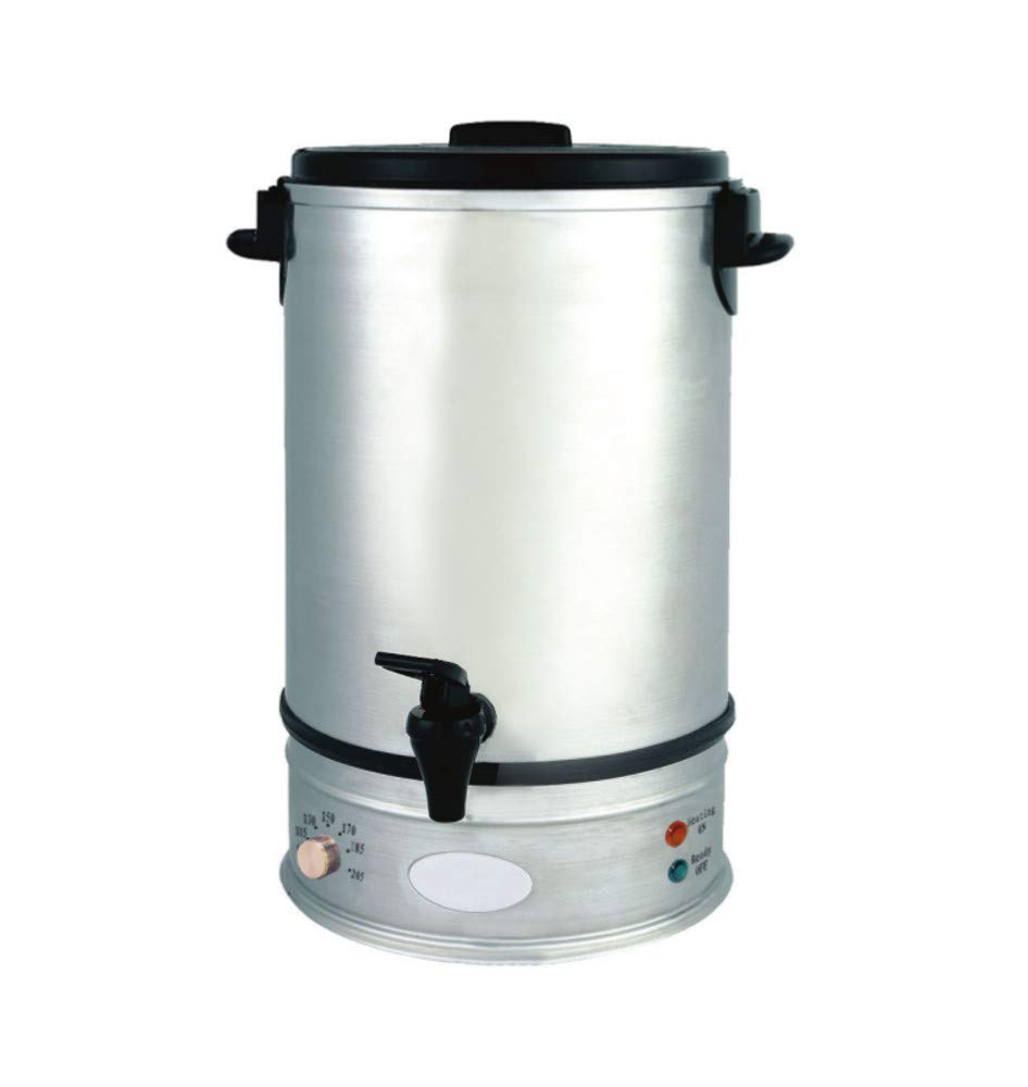 Empura 39110 10 Liter Stainless Steel Water Boiler 54 Cups - 120V, Stainless Steel by Empura