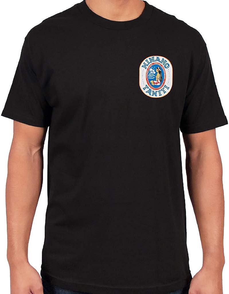 Hinano - Camiseta con logotipo ovalado negro XL: Amazon.es: Ropa
