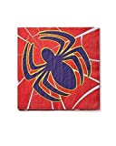 Spider-Man Lunch Napkins, Pack of 16, Party Supplies Model: 645416820837