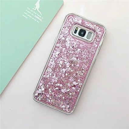 custodia cover per samsung galaxy s8plus custodia silicone glitter