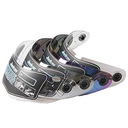 Alamor Lente De Visera De Casco De Motocicleta Para Jiekai 105 Plateado / Colorido / Transparente