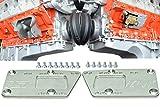Billet Engine Swap Bracket SBC LS Conversion Motor Mount Adjustable Plate LS1 LS3 Adapter Motor 551628