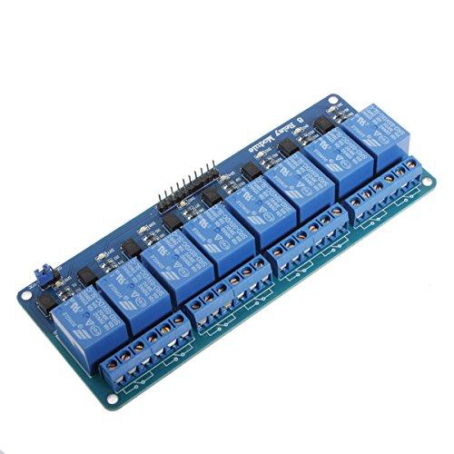 QOJA geekcreitu00ae 5v 8 channel relay module board for arduino by QOJA