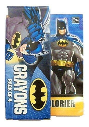 DC Comics Batman Mini Coloring Book With Crayons 25quot X 35quot
