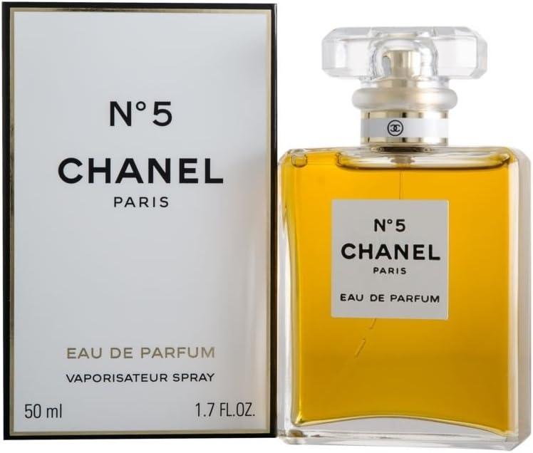 Chanel №5 50 ml - Eau de Parfum (Women, Aldehído, Neroli, Bergamota, Ylang-ylang, Lirio, Raíz del Iris, Jasmine, Lirio del valle, Rosa)