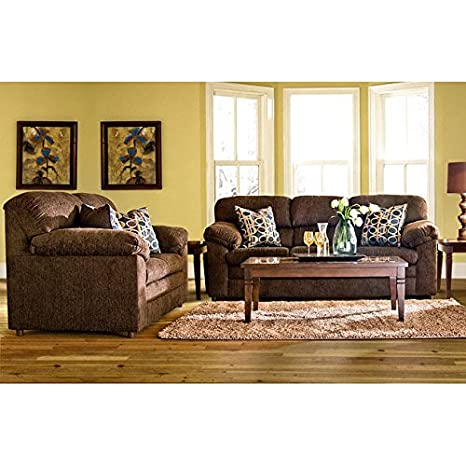 Fantastic Amazon Com Yadkin Living Room Set Wooten Java Kitchen Machost Co Dining Chair Design Ideas Machostcouk