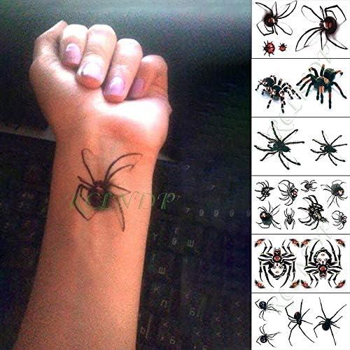 tzxdbh Etiqueta engomada del Tatuaje Temporal Impermeable Star ...
