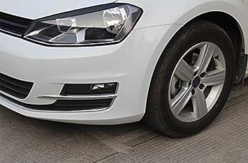 Lüften Umfeld Kapsel  Rifiniture Anteriori del Paraurti Cromate Plastica ABS 2 pezzi per Golf VII  7 2013-2017 (Non per R-Line, GTI): Amazon.it: Auto e Moto