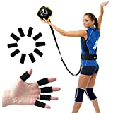 Volleyball Training Equipment Aid - Practice Your Serving, Setting & Spiking Ease, Great Solo Serve & Spike Trainer Beginners & Pro, Perfect Volleyball Gift, Choose The Right Bundle You
