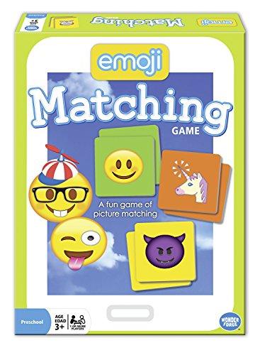 The Wonder Forge Emoji Matching Game -