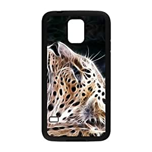 Happy Abstract Leopard Custom Protective Hard Phone Cae For Samsung Galaxy S5