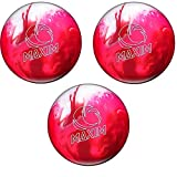 Ebonite Maxim Bowling Ball Pack of 3 For Sale