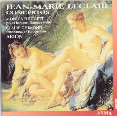 Leclair: Concertos /Huggett * Guimond * Ensemble - Monica Mall