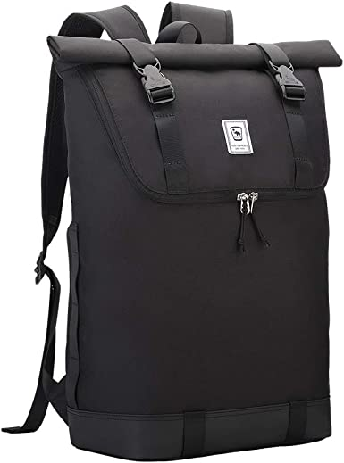 delicate colors lower price with clearance sale Amazon.com: OIWAS Roll Top Laptop Backpack Lightweight 15.6 Inch ...