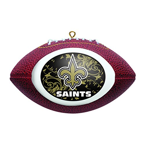 Boelter Brands NFL New Orleans Saints Replica Football Ornament