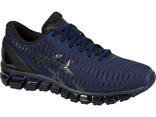 Zapato De Running Asics Hombres Gel-quantum 360 Medieval Azul / Negro / Azul Marino