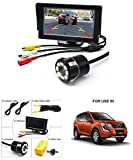 Volga Parking Assistance 4.3 Inch TFT LCD Monitor With 8 LED Night Vision Car Reverse Camera Combo