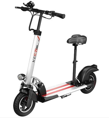 CYGGL Scooter eléctrico portátil Adecuado para Adultos ...