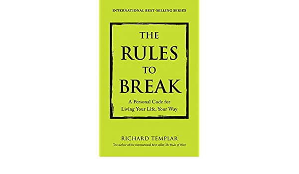 Rules Of Work Richard Templar Epub