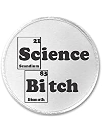 Amazon math science applique patches accessories science bitch 3 sew on patch periodic table chemistry science humor urtaz Gallery