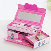 Funny Teddy Password Protected Jewelry/Makeup Box | Vanity case for Girls | Kids Toy Gift (Princess)