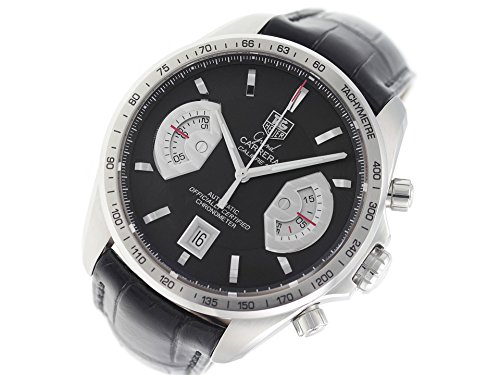 Tag Heuer Grand Carrera Automatic-self-Wind Male Watch CAV511A.FC6225 (Certified Pre-Owned)
