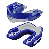 MoGo M1 Flavored Mouthguard (Blue Raspberry/2-Pack (case included), Adult)