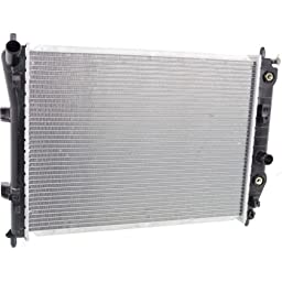 Make Auto Parts Manufacturing - CORVETTE 05-13 RADIATOR, w/o EOC, Auto Trans., Base Model - GM3010510
