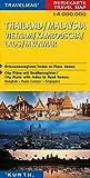 Reisekarte : Thailand / Malaysia / Vietnam / Kambodscha / Laos / Myanmar