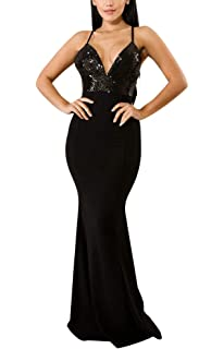 Women s Mermaid Semi Formal Dresses - Head Turner Elegant Sparkly Long  Evening Ball Gowns dc1ffac97