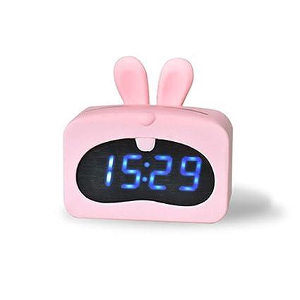 Reloj Despertador para Niños, Luz para Despertarse, Reloj ...