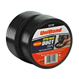 Unibond Duct Tape Twin Pack, 50x50 Black