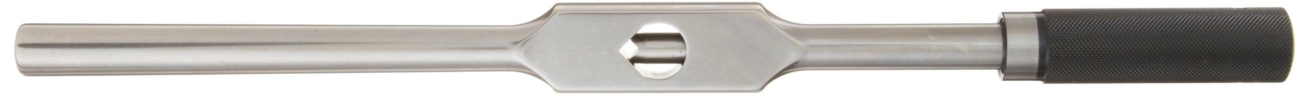 "Starrett 91D Tap Wrench, 5/16"" - 3/4"" Tap Size, 13/64"" - 7/16"" Square Shank Diameter, 16"" Body Length"