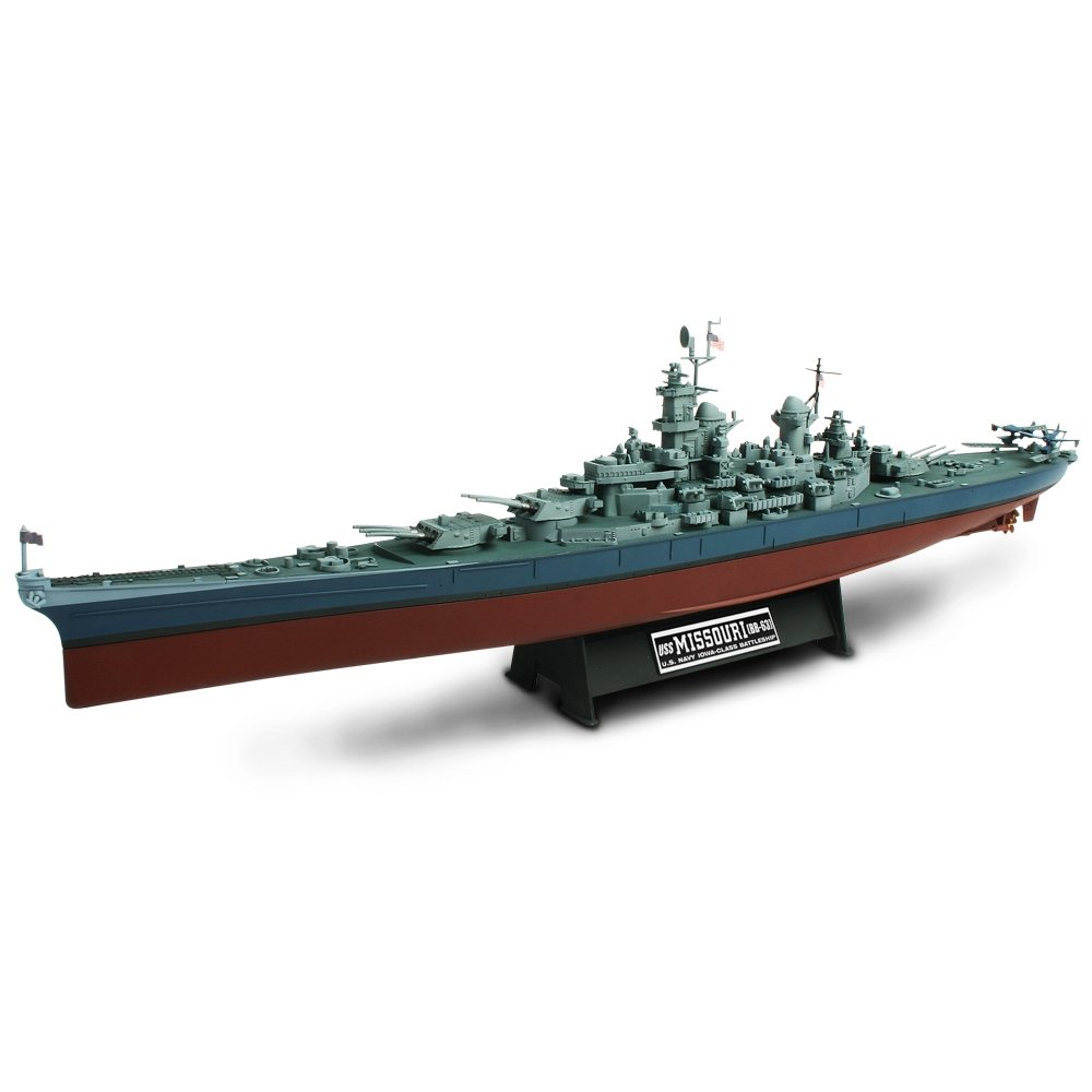 Forces of Valor Model - USS Missouri BB-63 Battleship - 1:700 Scale - 86010