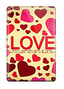 Awesome Abstract Valentines Day Flip Case With Fashion Design For Ipad Mini/mini 2